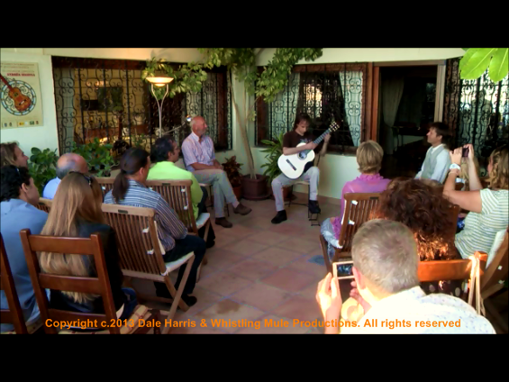 Dale Harris at Andres Segovia's residence 'Los Olivos' #6