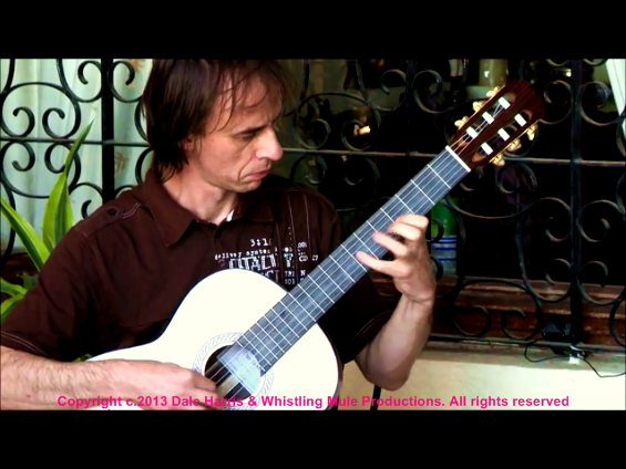 Dale Harris at Andres Segovia's residence 'Los Olivos' #1